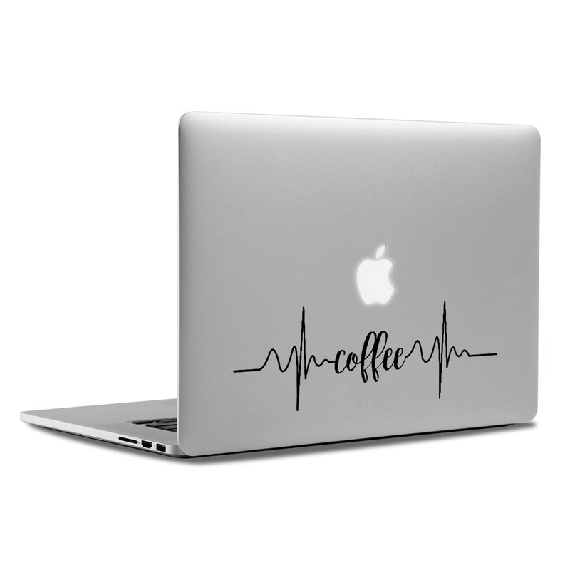 MacBook Decal - Coffee Beat