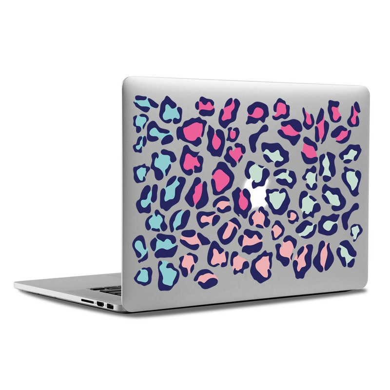 MacBook Decal - Color Leopard