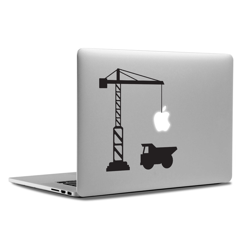 MacBook Decal - Construction Site