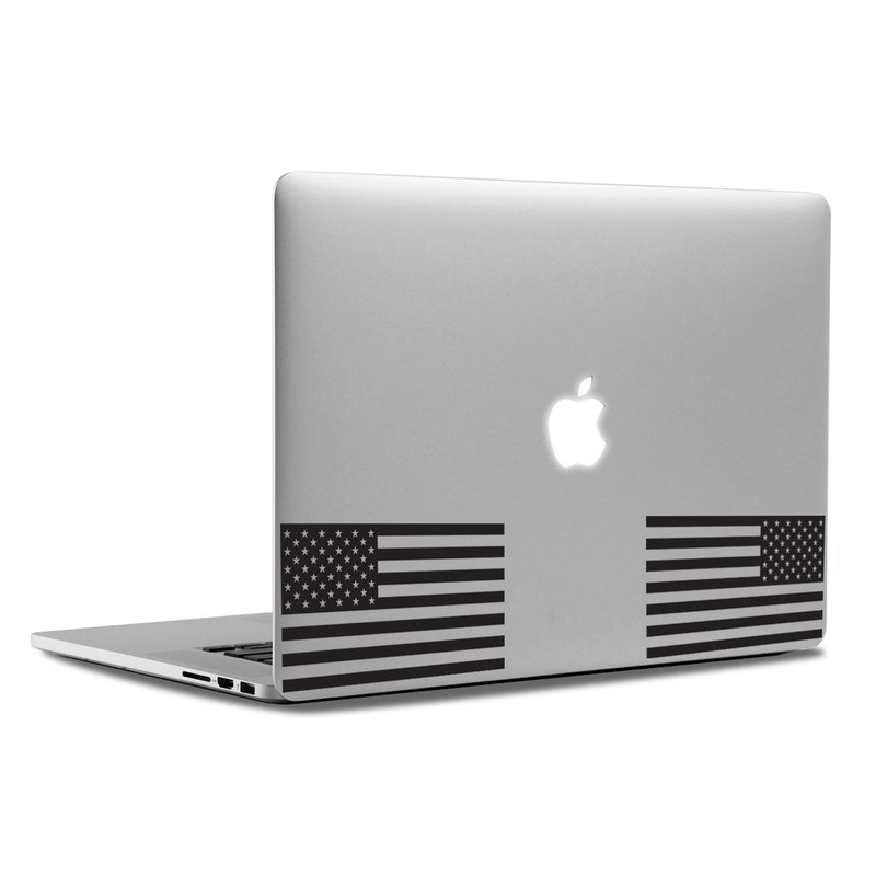 MacBook Decal - Dual Flag