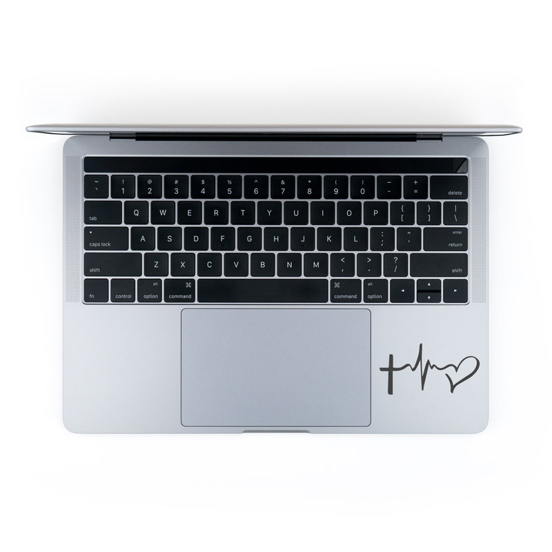 MacBook Decal - Faith Hope Love