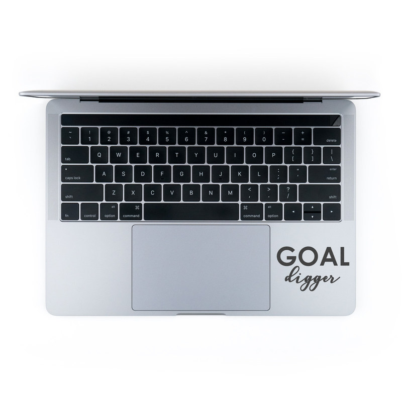 MacBook Decal - Goal Digger