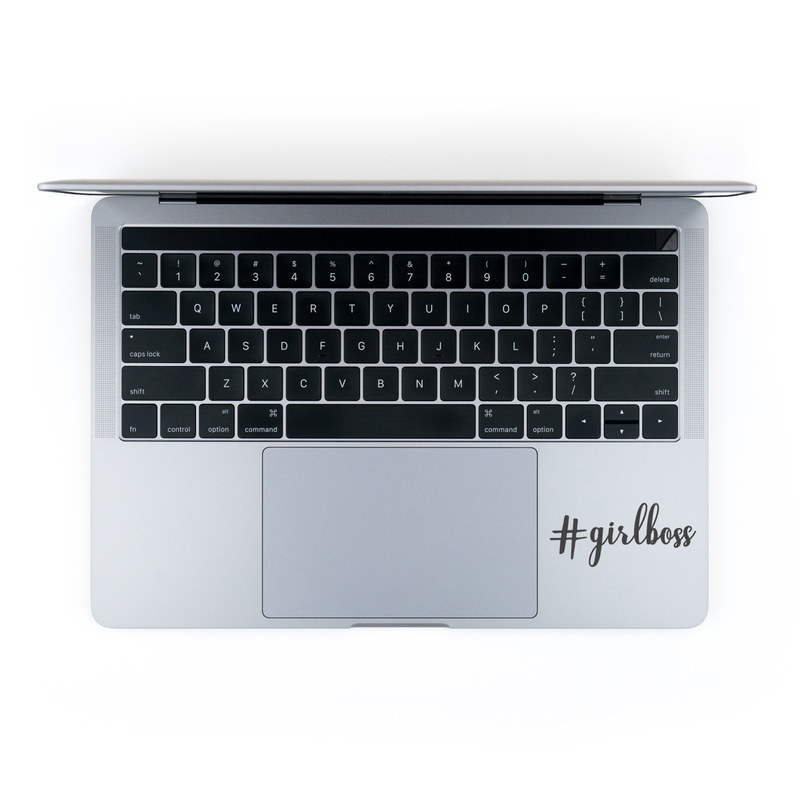 MacBook Decal - Girl Boss