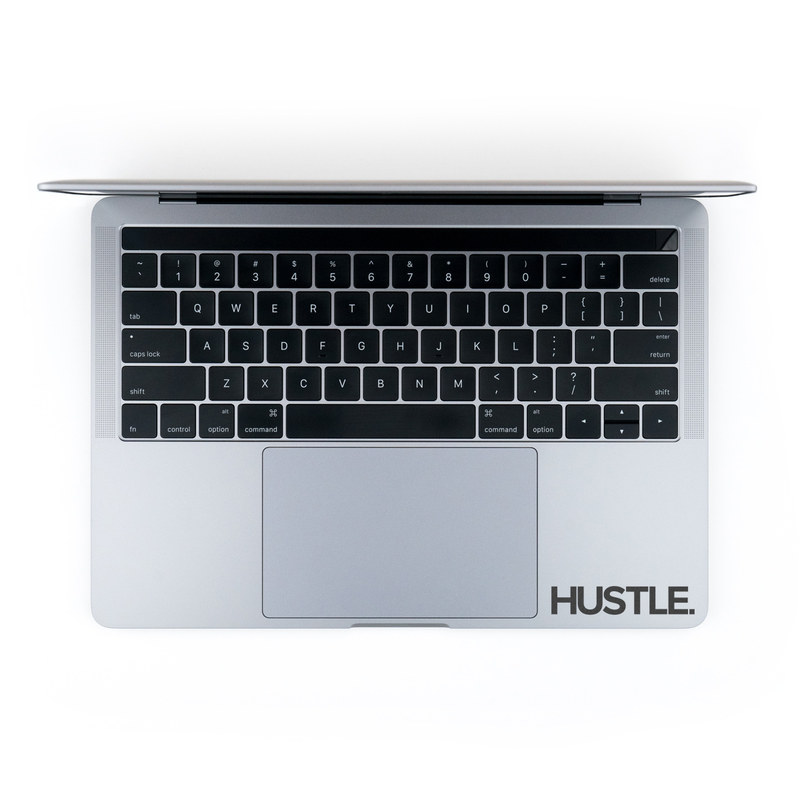 MacBook Decal - Hustle