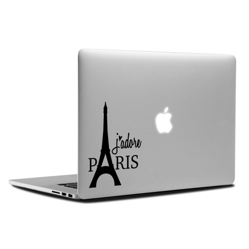 MacBook Decal - J'adore