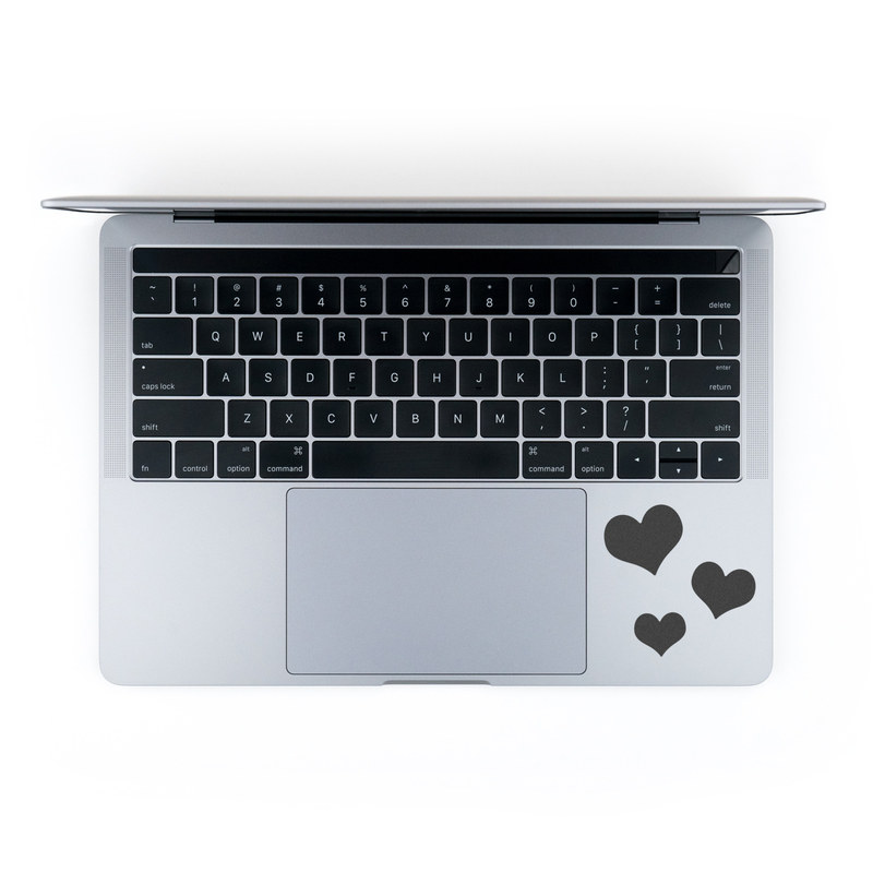 MacBook Decal - Just Hearts