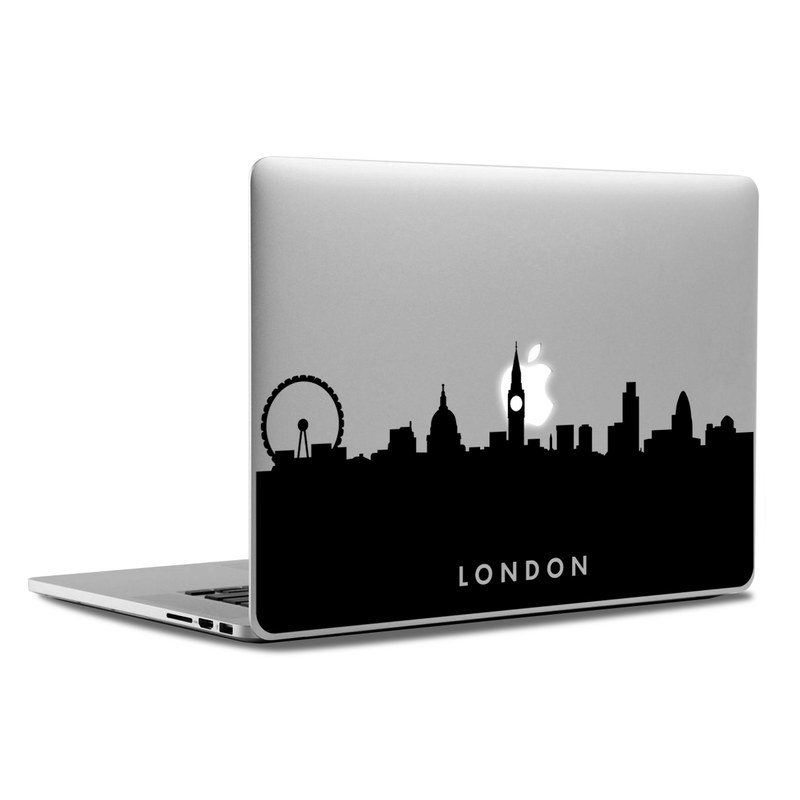 MacBook Decal - London Skyline