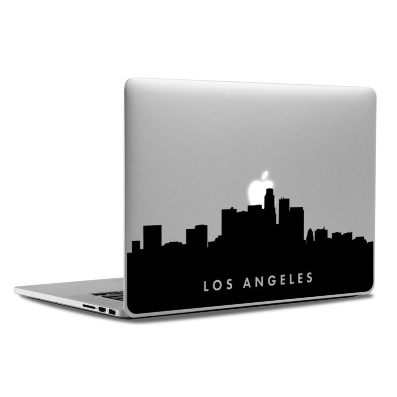 MacBook Decal - Los Angeles Skyline