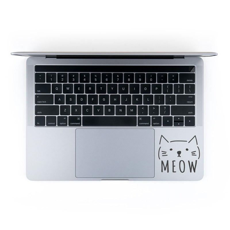 MacBook Decal - Meow