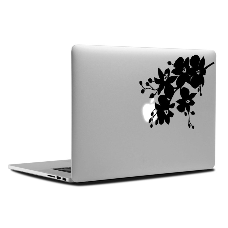 MacBook Decal - Orchids