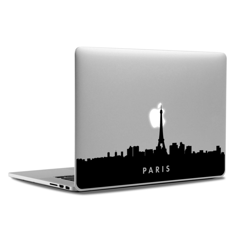 MacBook Decal - Paris Skyline