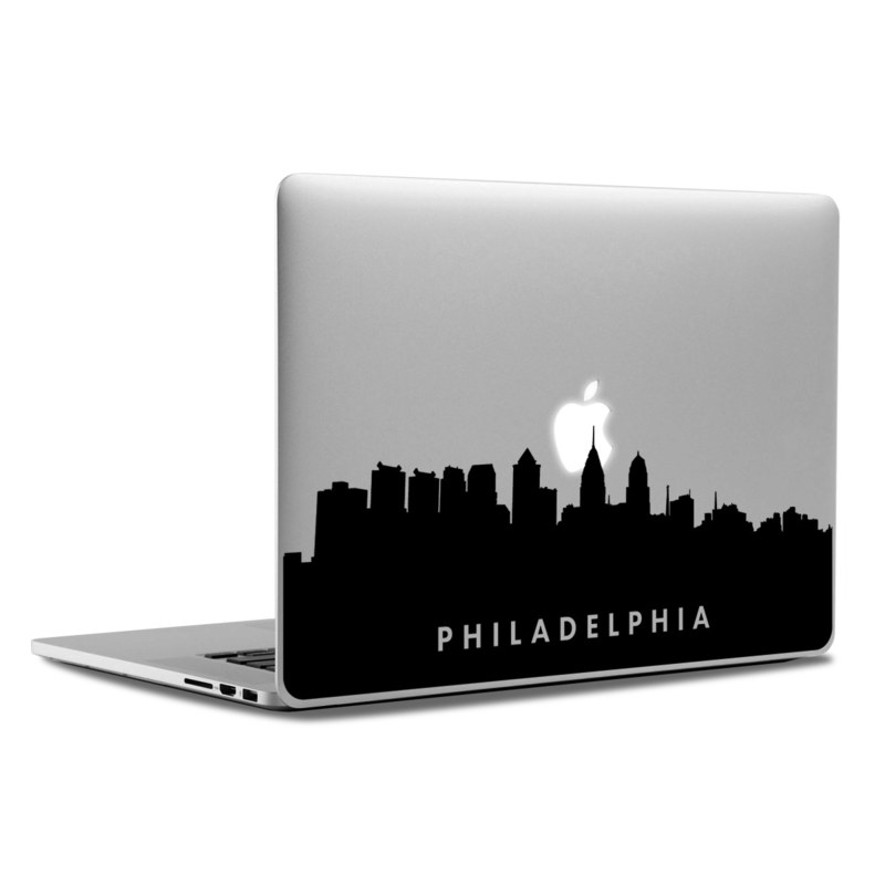 MacBook Decal - Philadelphia Skyline