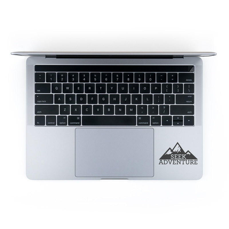 MacBook Decal - Seek Adventure