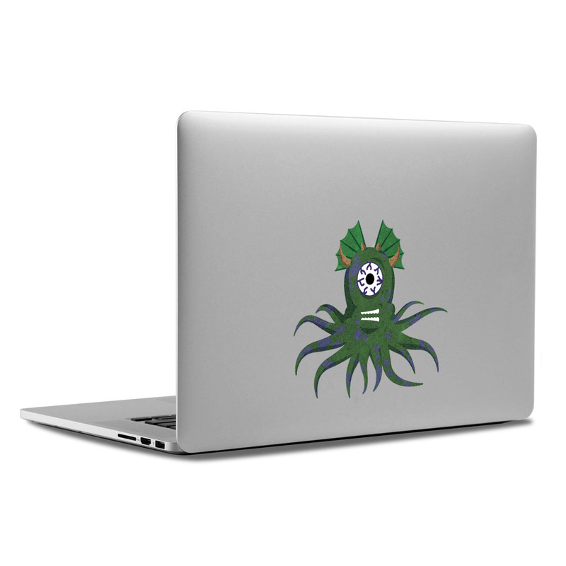 MacBook Decal - Squid Monster