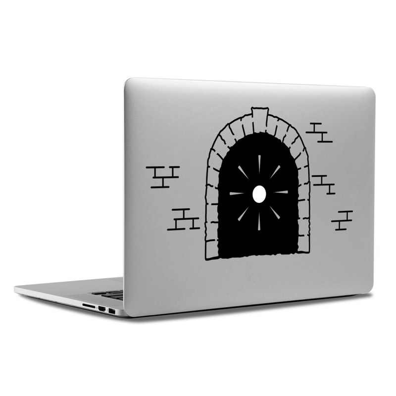 MacBook Decal - Train Tunnel