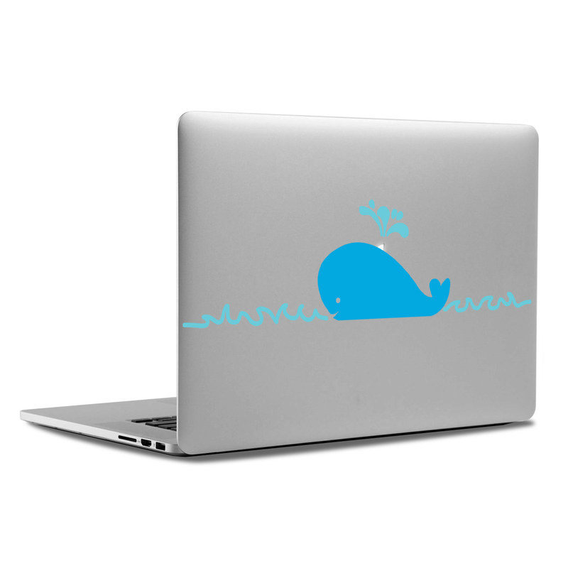 MacBook Decal - Whale
