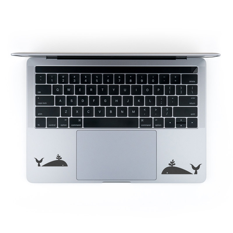 MacBook Decal - Whale Hello