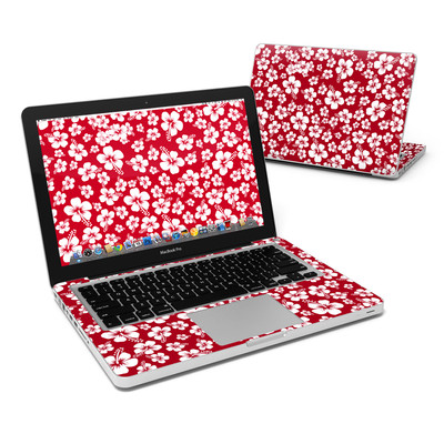 MacBook Pro 13in Skin - Aloha Red