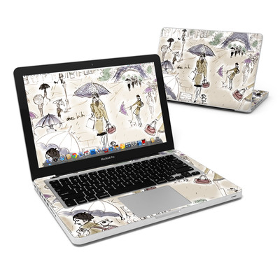 MacBook Pro 13in Skin - Ah Paris