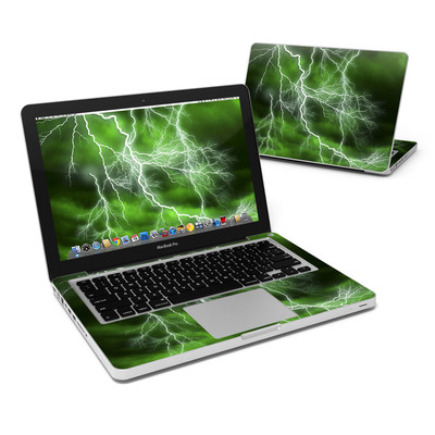 MacBook Pro 13in Skin - Apocalypse Green