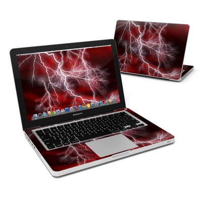 MacBook Pro 13in Skin - Apocalypse Red