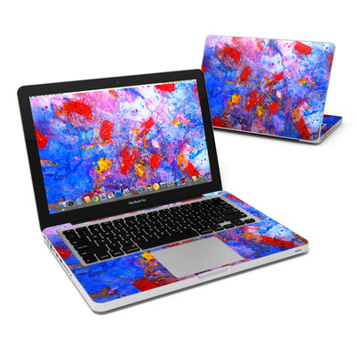 MacBook Pro 13in Skin - Aqua-ese