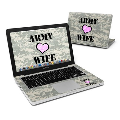 MacBook Pro 13in Skin - Army Wife