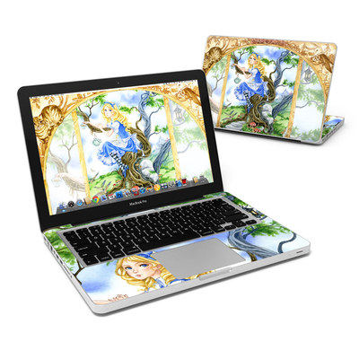 MacBook Pro 13in Skin - Alice's Tea Time
