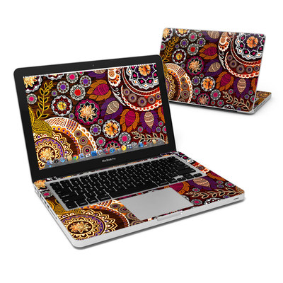 MacBook Pro 13in Skin - Autumn Mehndi