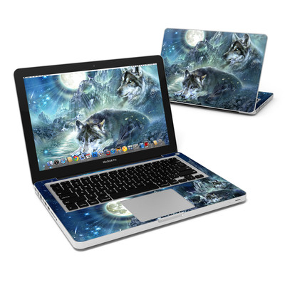 MacBook Pro 13in Skin - Bark At The Moon