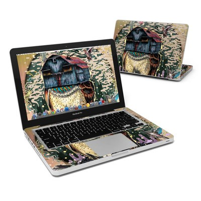 MacBook Pro 13in Skin - Barn Owl Fortune