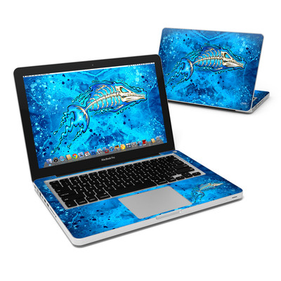 MacBook Pro 13in Skin - Barracuda Bones