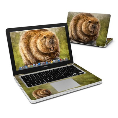 MacBook Pro 13in Skin - Beaver Totem