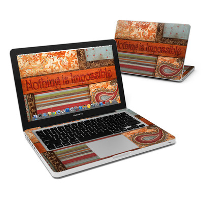 MacBook Pro 13in Skin - Be Inspired