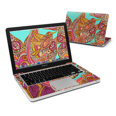 MacBook Pro 13in Skin - Bird In Paradise