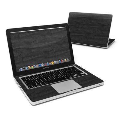 MacBook Pro 13in Skin - Black Woodgrain