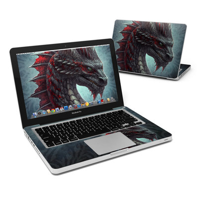 MacBook Pro 13in Skin - Black Dragon