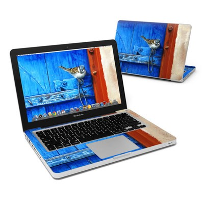 MacBook Pro 13in Skin - Blue Door