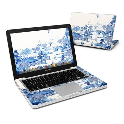 MacBook Pro 13in Skin - Blue Willow