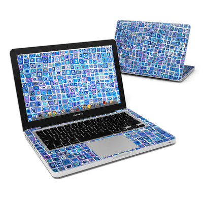 MacBook Pro 13in Skin - Blue Monday