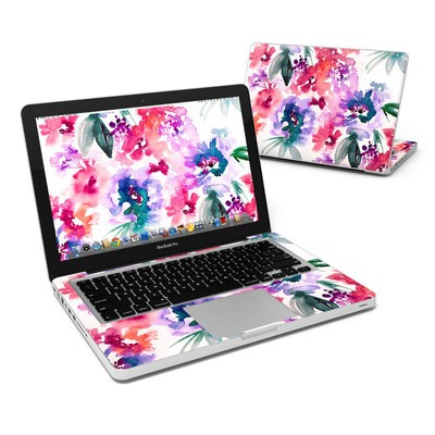 MacBook Pro 13in Skin - Blurred Flowers