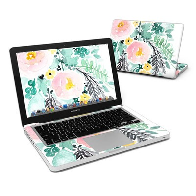 MacBook Pro 13in Skin - Blushed Flowers