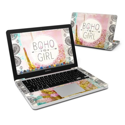 MacBook Pro 13in Skin - Boho Girl