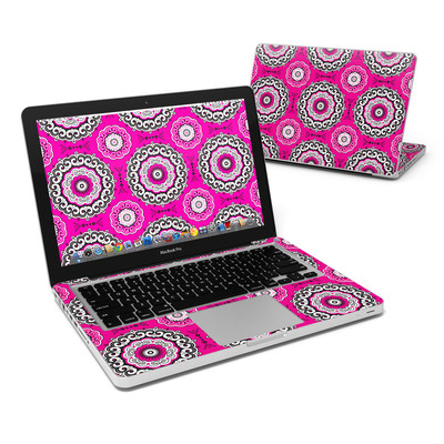 MacBook Pro 13in Skin - Boho Girl Medallions