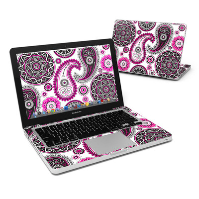 MacBook Pro 13in Skin - Boho Girl Paisley