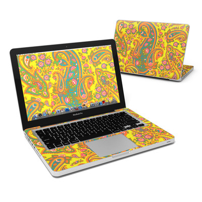 MacBook Pro 13in Skin - Bombay Chartreuse