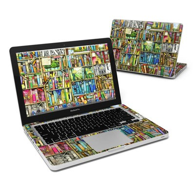 MacBook Pro 13in Skin - Bookshelf