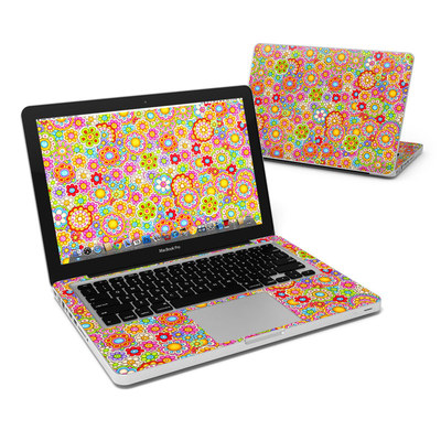 MacBook Pro 13in Skin - Bright Ditzy