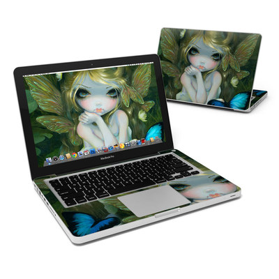 MacBook Pro 13in Skin - Butterfly Lily