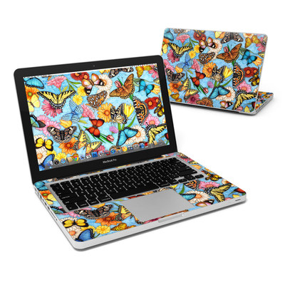 MacBook Pro 13in Skin - Butterfly Land
